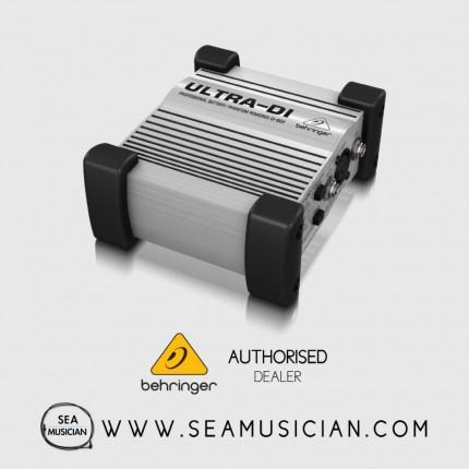 BEHRINGER DI-BOX ULTRA-DI DI100 1 CHANNEL ACTIVE MICROPHONE/ INSTRUMENT DIRECT BOX (BEH-DI-100)