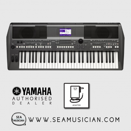 YAMAHA PSR S670 WITH BAG AND KEYBOARD STAND (YMHPSRS670)