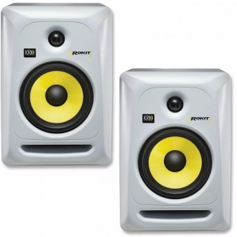 *DISCONTINUED* KRK SYSTEM ROKIT 6 G3 STUDIO MONITOR (PAIR) - WHITE (K03-RP6G3W)