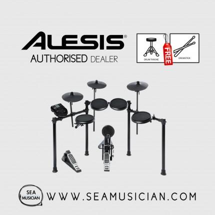 ALESIS NITROKIT 8-PIECE ELECTRONIC DRUMSET FREE DRUMSTICK + DRUM THRONE (ALE-NITROKIT)