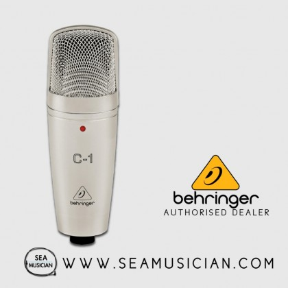 BEHRINGER C-1 RECORDING CONDENSER MICROPHONE (BEH-C-1)