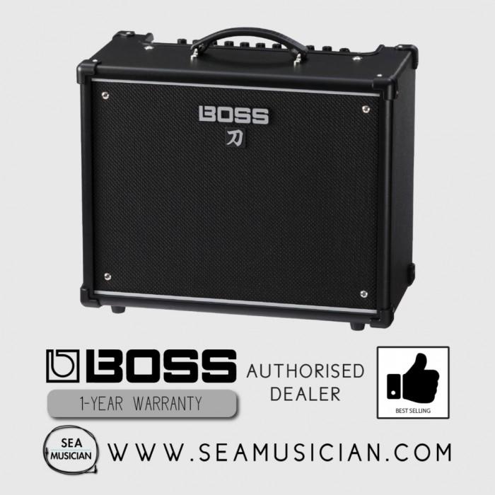 boss katana ktn 50 50w 1x12 guitar combo amplifier boss katana 50. Black Bedroom Furniture Sets. Home Design Ideas