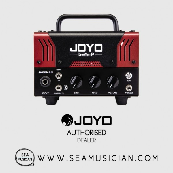 JOYO BANTAMP JACKMAN 20-WATT TUBE AMP HEAD (JOYOBANTAMP JACKMAN)