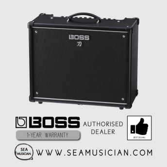 * DISCONTINUED* BOSS KATANA KTN-100/212 100 WATT 2X12-INCH GUITAR COMBO AMPLIFER (BOSS KATANA-100/212)