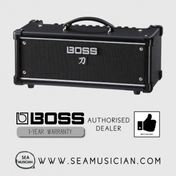 * DISCONTINUED* BOSS KATANA KTN-HEAD PORTABLE 100W GUITAR AMPLIFIER (BOSS KATANA-HEAD)
