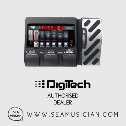 DIGITECH RP355 GUITAR MULTI-EFFECT (DIGRP355V)