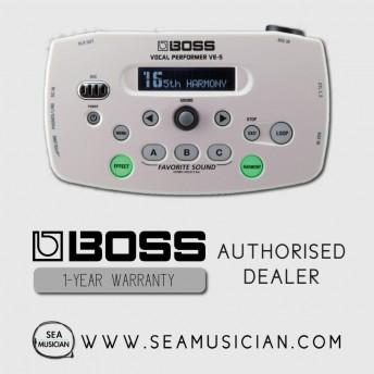 BOSS VE 5 VOCAL PERFORMER VOCAL EFFECT (BOSS-VE-5-WT)