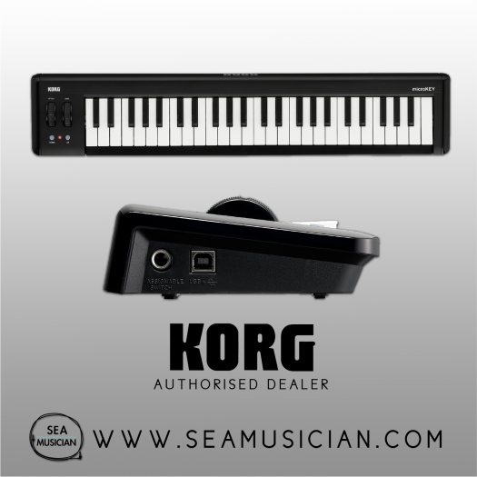 KORG MICROKEY2 49-KEYS USB POWERED COMPACT MIDI KEYBOARD (KORG-MICROKEY2-49AIR)