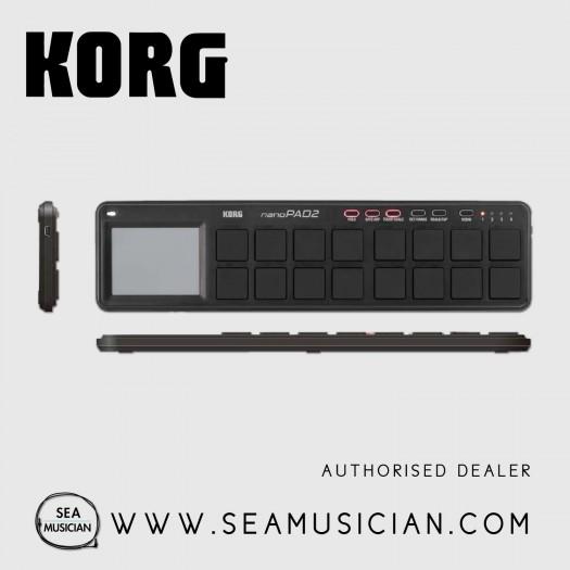 KORG NANOPAD2 SLIM-LINE USB MIDI PAD (KORG-NANOPAD2)