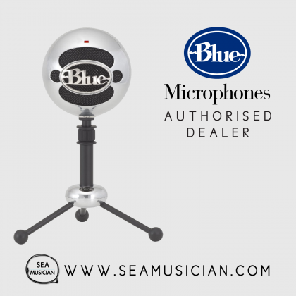 BLUE MICROPHONE SNOWBALL USB MICROPHONE - BRUSHED ALUMINIUM