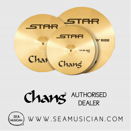 CHANG CYMBAL STAR-K CYMBAL PACK K SET, 14