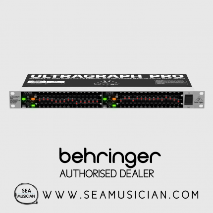 BEHRINGER ULTRAGRAPH PRO FBQ1502 PROFESSIONAL 15-BAND STEREO GRAPHIC EQUALIZER