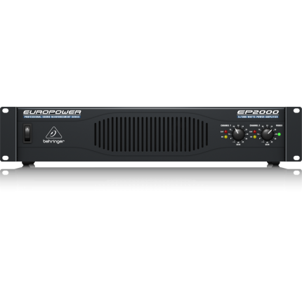 BEHRINGER EP2000 PROFESSIONAL 2,000-WATT STEREO POWER AMPLIFIER WITH ATR (BEH-EP2000)