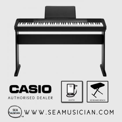CASIO CDP 135 88-KEYS DIGITAL PIANO WITH BENCH - BLACK (CAS-CDP135)
