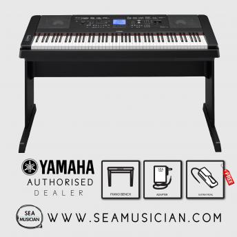 YAMAHA DGX660B 88 KEY GRAND DIGITAL PIANO - BLACK YMH-DGX660B