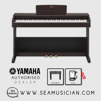 YAMAHA YDP103R ARIUS SERIES DIGITAL CONSOLE PIANO ROSEWOOD