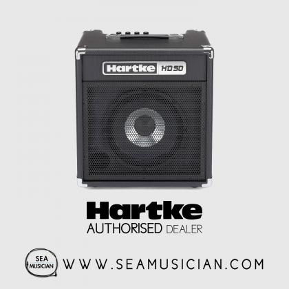 HARTKE HD50 BASS GUITAR AMPLIFIER 50 WATT (HD-50/HD 50)