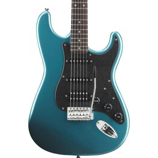 SQUIER BY FENDER AFFINITY STRATOCASTER HSS ELECTRIC GUITAR - LAKE PLACID BLUE