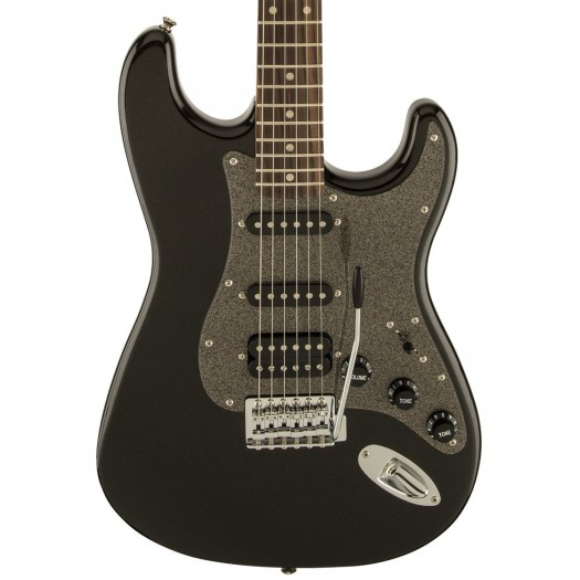 SQUIER BY FENDER AFFINITY STRATOCASTER HSS ELECTRIC GUITAR - MONTEGO BLACK