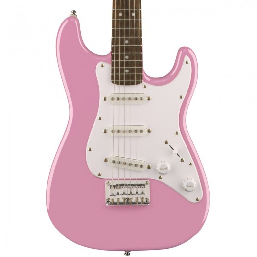 SQUIER AFFINITY SERIES STRATOCASTER ELECTRIC GUITAR - SHELL PINK