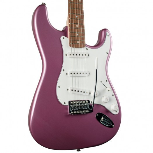 SQUIER AFFINITY SERIES STRATOCASTER ELECTRIC GUITAR - BURGUNDY MIST