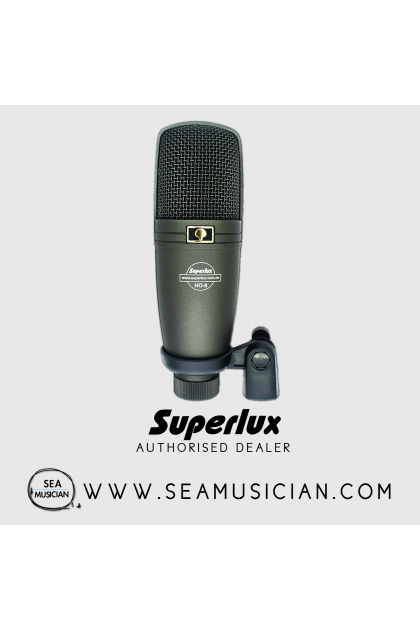 SUPERLUX H-08 CONDENSER MICROPHONE (H08)