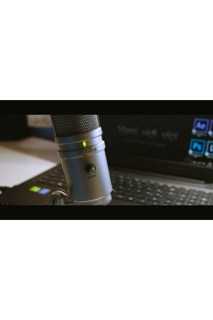 SUPERLUX E205 STUDIO CONDENSER MICROPHONE - BLACK