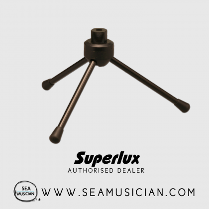 SUPERLUX DS011/B DESKTOP MICROPHONE STAND (SUP-DS011/B)