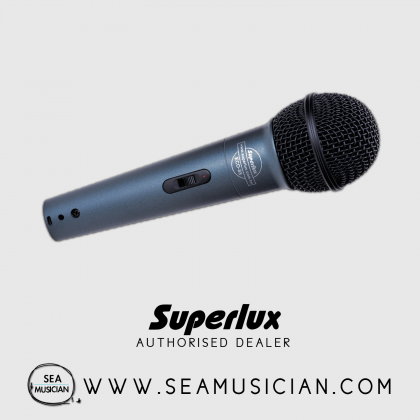 SUPERLUX ECO-88S SONATA SERIES DYNAMIC MICROPHONE (SUP-ECO88S)