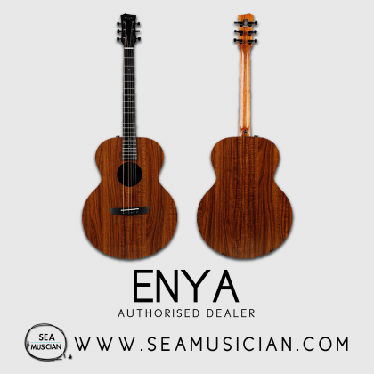 ENYA EA-X1E KOA HPL ACOUSTIC GUITAR WITH EQ (ENY-EAX1E)