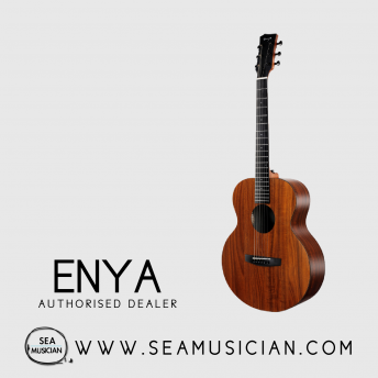 ENYA EMX1 36INCH KOA HPL ACOUSTIC GUITAR WITH PACKAGE (ENY-EMX1)