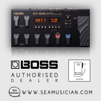 BOSS GT-100 GUITAR MULTI-EFFECTS PEDAL (BOSS-GT100)