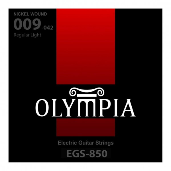 OLYMPIA EGS-850 NICKEL WOUND ELECTRIC GUITAR STRING 9-42