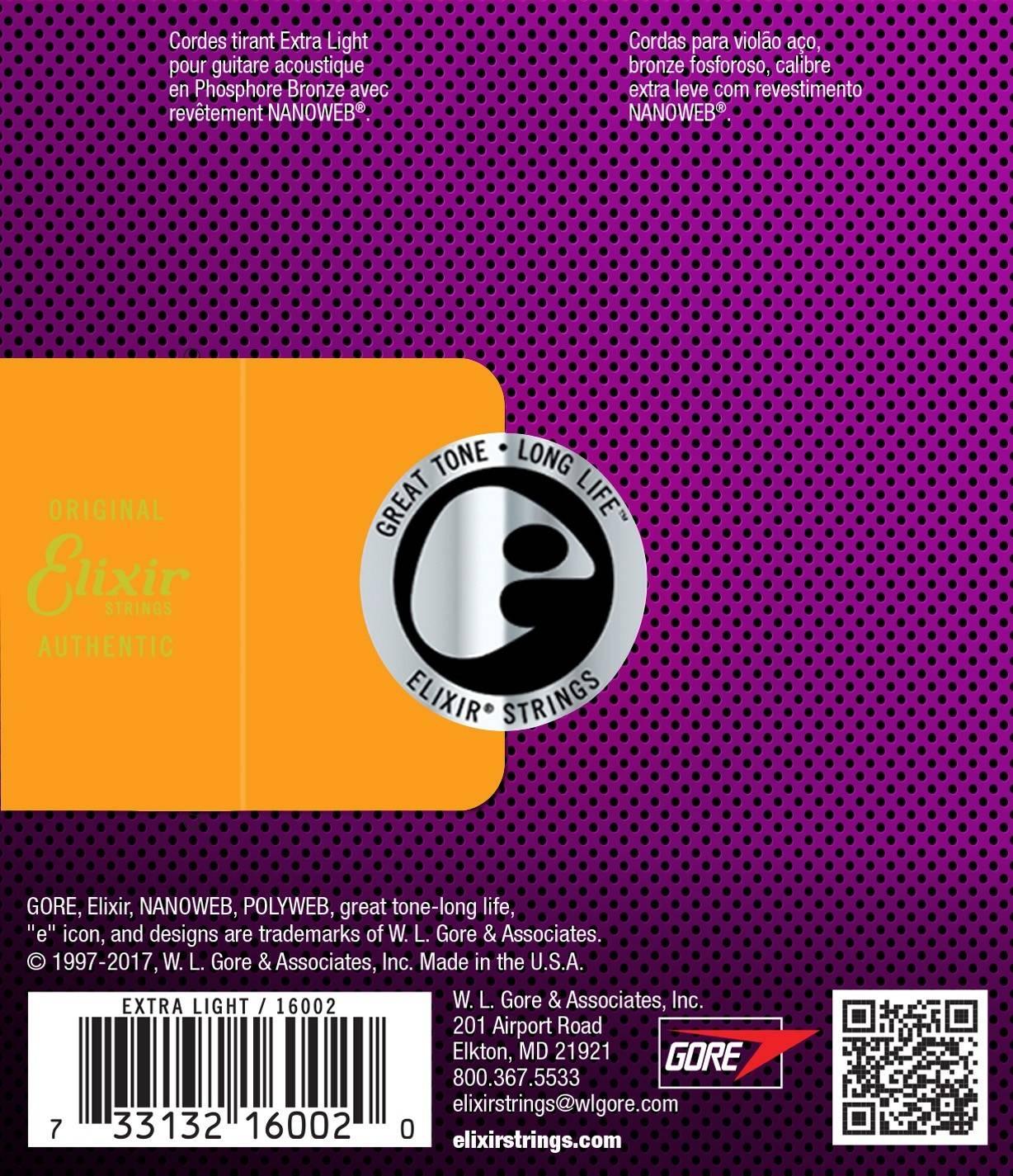 Elixir 11050 Bronze L POLYWEB 012//053