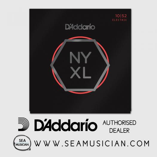 D'ADDARIO NYXL1052 ELECTRIC GUITAR STRING SET 10-52 LIGHT TOP/HEAVY BOTTOM
