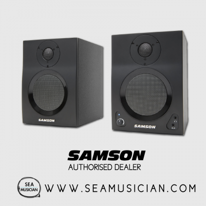 SAMSON MEDIAONE BT4 ACTIVE STUDIO MONITOR WITH BLUETOOTH (SAMMBT4)