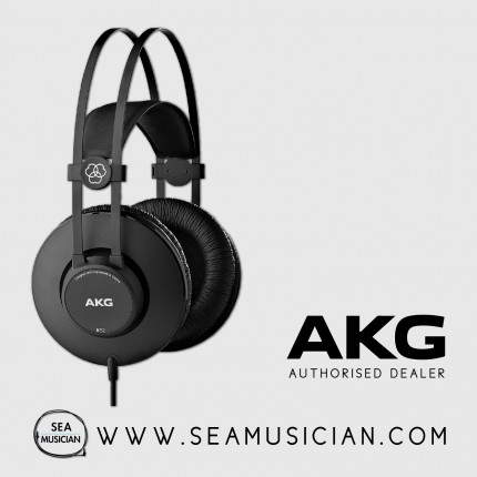 AKG K52 PRO-AUDIO CLOSED-BACK & OVER-EAR STUDIO HEADPHONES