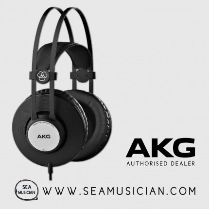 AKG K72 PRO-AUDIO CLOSED-BACK & OVER-EAR STUDIO HEADPHONES