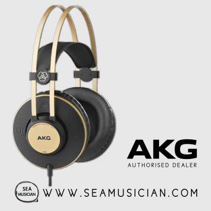 AKG K92 PRO-AUDIO CLOSED-BACK & OVER-EAR HEADPHONES