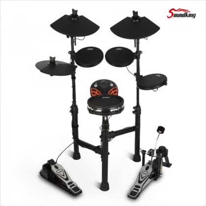 SOUNDKING SKD130-MESH 5 DRUMS 3 CYMBALS ELECTRONIC DRUMSET