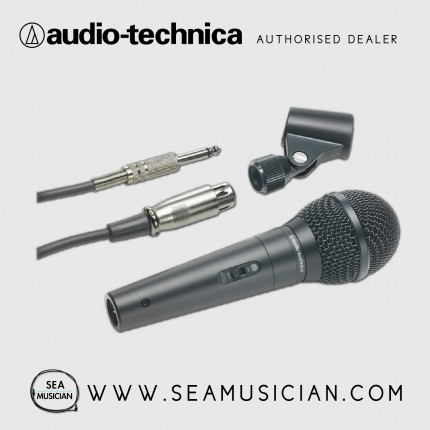AUDIO-TECHNICA ATR1300 UNIDIRECTIONAL DYNAMIC VOCAL/INSTRUMENT MICROPHONE