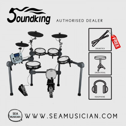 SOUNDKING SKD203 ELECTRONIC DRUMSET WITH 458 PERCUSSION VOICES
