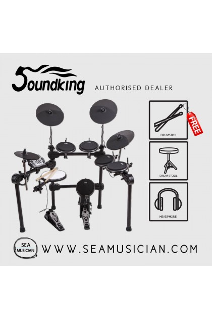 SOUNDKING SKD230 ELECTRONIC DRUMSET WITH 6 DRUMS & 4 CYMBALS