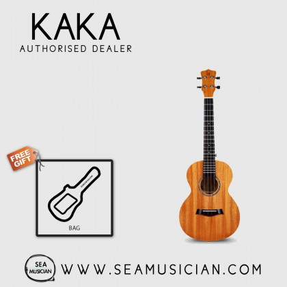 KAKA BY ENYA KUC-MA MAHOGANY UKULELE CONCERT SIZE WITH LEATHER BAG