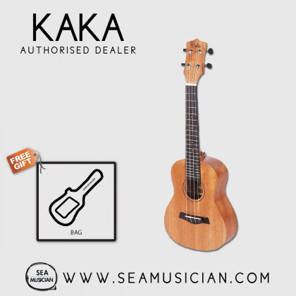 KAKA BY ENYA KUT-25D MAHOGANY UKULELE TENOR SIZE WITH PADDED SOFT BAG