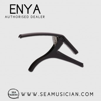ENYA EAC02 CAPO FOR 6-STRING GUITAR ACOUSTIC & ELECTRIC GUITAR - BLACK