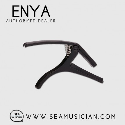 ENYA EAC02 CAPO FOR 6-STRING GUITAR ACOUSTIC & ELECTRIC GUITAR - BLACK