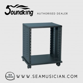 SOUNDKING DF140 19inch RACK STAND ON WHEELS