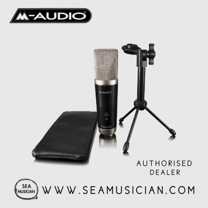 M-AUDIO VOCAL STUDIO USB CONDENSER MICROPHONE - STUDIO/HOME RECORDING