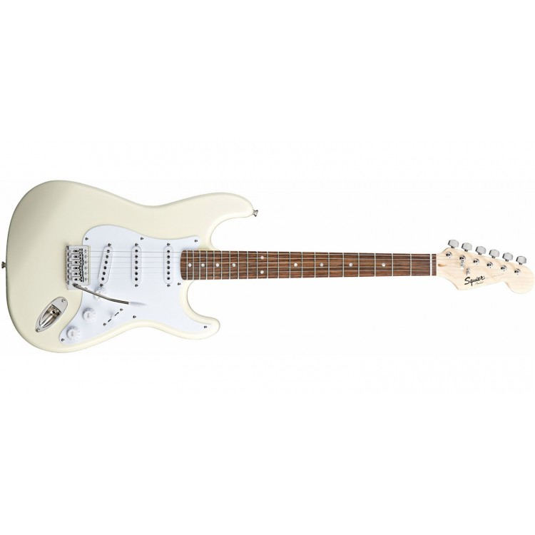 SQUIER BULLET STRATOCASTER ELECTRIC GUITAR WITH TREMOLO, ROSEWOOD NECK